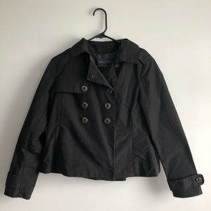 Banana Republic Rain Jacket Black